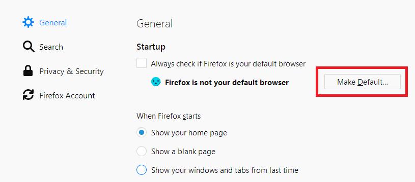三种方法在Windows 10 中更改默认浏览器为Firefox或Chrome