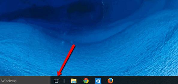 如何在Windows 10中使用多个桌面